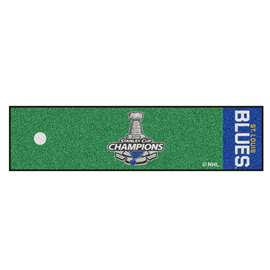 St. Louis Blues 2019 NHL Stanley Cup Champions Putting Green Mat