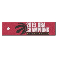 NBA - Toronto Raptors 2019 NBA Finals Champions Putting Green Mat
