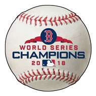 "Boston Red Sox 2018 World Series Champions Baseball Mat 26"" diameter  Baseball Mat"