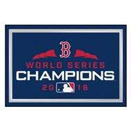 Boston Red Sox 2018 World Series Champions 5x8 Rug  5x8 Rug