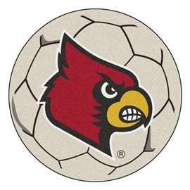 University of Louisville  Soccer Ball Mat, Rug , Carpet