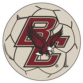 Boston College  Soccer Ball Mat, Rug , Carpet