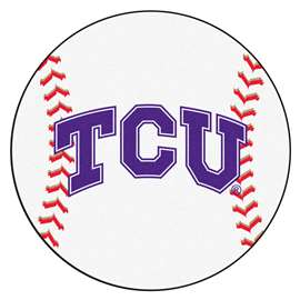 Texas Christian University  Baseball Mat Rug Carpet Mats