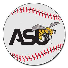 Alabama State University  Baseball Mat Rug Carpet Mats