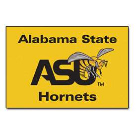 Alabama State University  Starter Mat Mat, Rug , Carpet