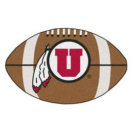 University of Utah  Football Mat Mat Rug Carpet