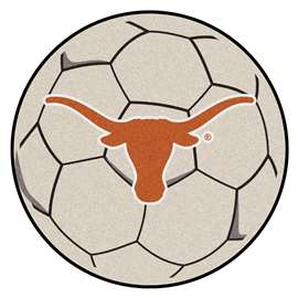 University of Texas  Soccer Ball Mat, Rug , Carpet