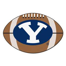 Brigham Young University  Football Mat Mat Rug Carpet