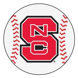 North Carolina State University  Baseball Mat Rug Carpet Mats
