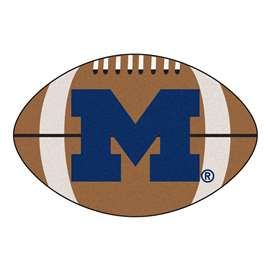 University of Michigan  Football Mat Mat Rug Carpet
