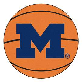 University of Michigan  Basketball Mat Rug Carpet Mats