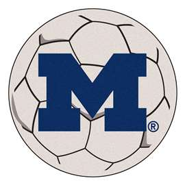 University of Michigan  Soccer Ball Mat, Rug , Carpet