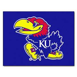 University of Kansas  All Star Mat Rug Carpet Mats