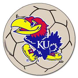 University of Kansas  Soccer Ball Mat, Rug , Carpet