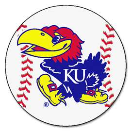 University of Kansas  Baseball Mat Rug Carpet Mats