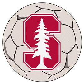 Stanford University  Soccer Ball Mat, Rug , Carpet