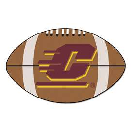 Central Michigan University  Football Mat Mat Rug Carpet