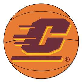 Central Michigan University  Basketball Mat Rug Carpet Mats