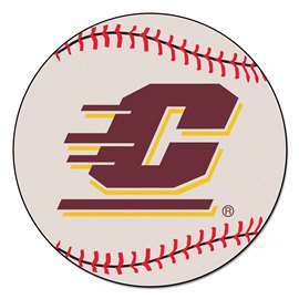 Central Michigan University  Baseball Mat Rug Carpet Mats