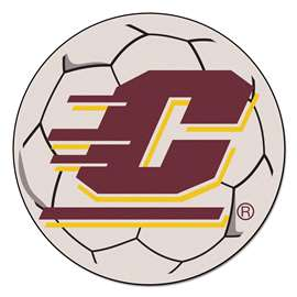 Central Michigan University  Soccer Ball Mat, Rug , Carpet