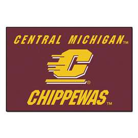 Central Michigan University Starter Mat Rectangular Mats