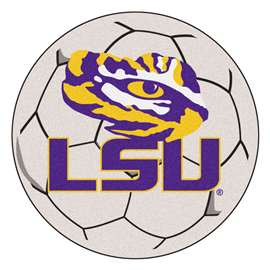 Louisiana State University  Soccer Ball Mat, Rug , Carpet