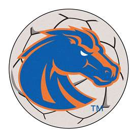 Boise State University  Soccer Ball Mat, Rug , Carpet