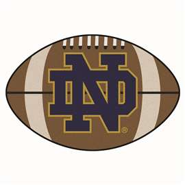 Notre Dame  Football Mat Mat Rug Carpet