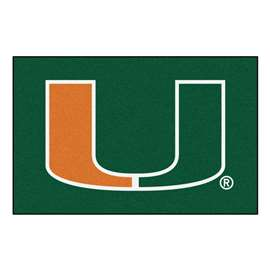 University of Miami  Starter Mat Mat, Rug , Carpet