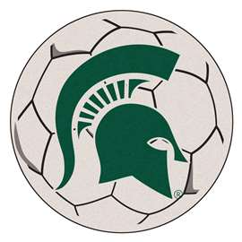 Michigan State University  Soccer Ball Mat, Rug , Carpet