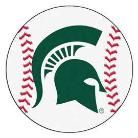Michigan State University  Baseball Mat Rug Carpet Mats