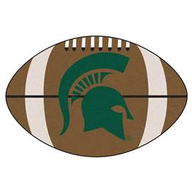 Michigan State University  Football Mat Mat Rug Carpet