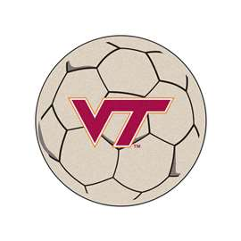 Virginia Tech  Soccer Ball Mat, Rug , Carpet