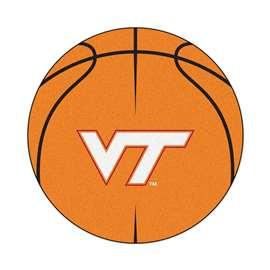 Virginia Tech  Basketball Mat Rug Carpet Mats