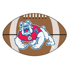 Fresno State  Football Mat Mat Rug Carpet