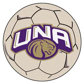 University of North Alabama  Soccer Ball Mat, Rug , Carpet