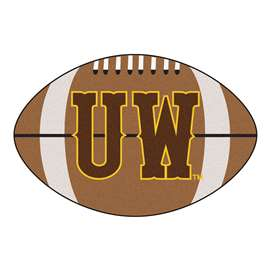 University of Wyoming  Football Mat Mat Rug Carpet