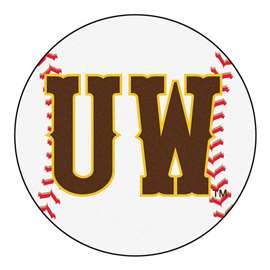 University of Wyoming  Baseball Mat Rug Carpet Mats