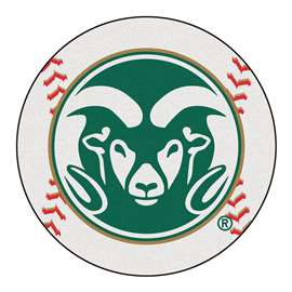 Colorado State University  Baseball Mat Rug Carpet Mats