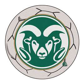 Colorado State University  Soccer Ball Mat, Rug , Carpet