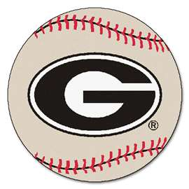 University of Georgia  Baseball Mat Rug Carpet Mats