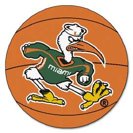 University of Miami  Basketball Mat Rug Carpet Mats