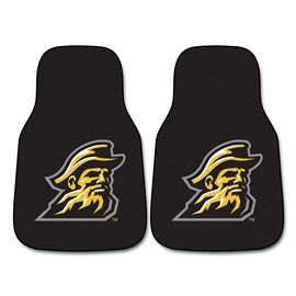 Appalachian State  2-pc Carpet Car Mat Set