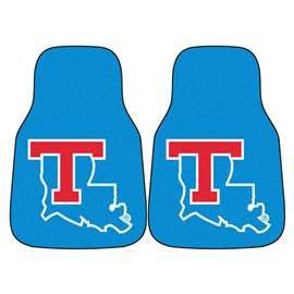 Louisiana Tech University  2-pc Carpet Car Mat Set