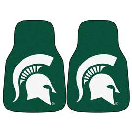 Michigan State University  2-pc Carpet Car Mat Set