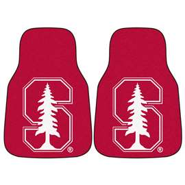 Stanford University  2-pc Carpet Car Mat Set