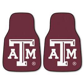Texas A&M University  2-pc Carpet Car Mat Set
