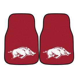 University of Arkansas  2-pc Carpet Car Mat Set
