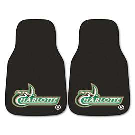 University of North Carolina - Charlotte  2-pc Carpet Car Mat Set