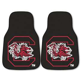 University of South Carolina  2-pc Carpet Car Mat Set